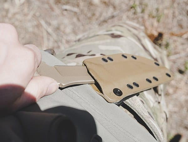 Outdoor Field Test Spartan Blades Formido Knife