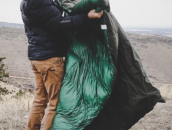 Outdoor Field Test Takibi Kake Futon Down Blankets