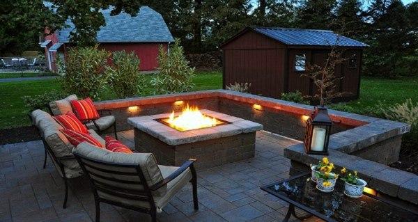 Top 60 Best Fire Pit Ideas Heated