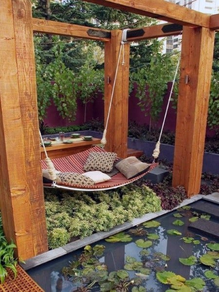 Outdoor Hanging Bed Ideas