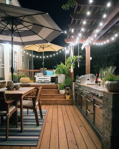 Top 60 Best Outdoor Kitchen Ideas - Chef Inspired Backyard ... Small Backyard Ideas With Kitchen on small backyard ideas deck, small room ideas with kitchen, small remodel with kitchen,