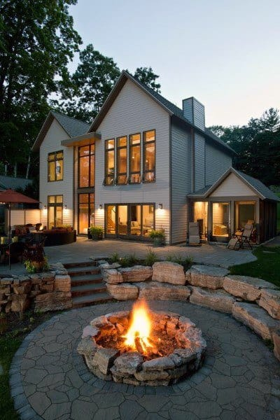 Outdoor Large Fire Pit Ideas
