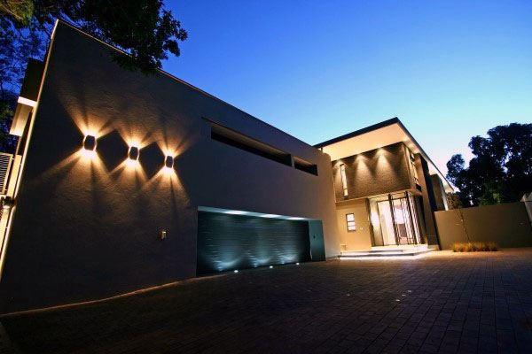 Outdoor Lighting Design Ideas For Garage
