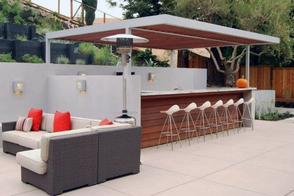 Outdoor Mini Bar Designs