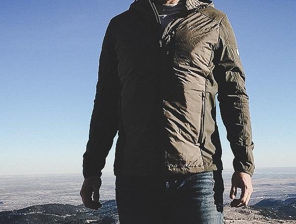 Outdoor Mountain Hike Kuhl Wildkard Hybrid Mens Hoodie Review