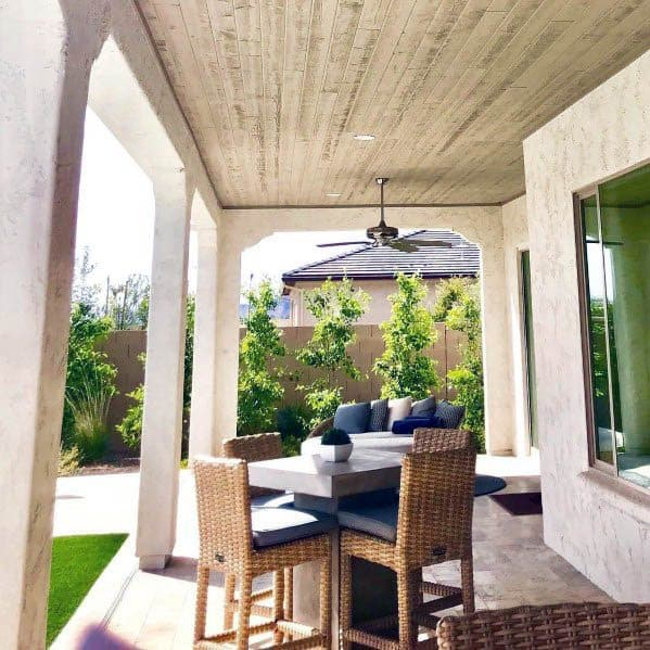 Home Design Ideas Outside: Top 50 Best Patio Ceiling Ideas