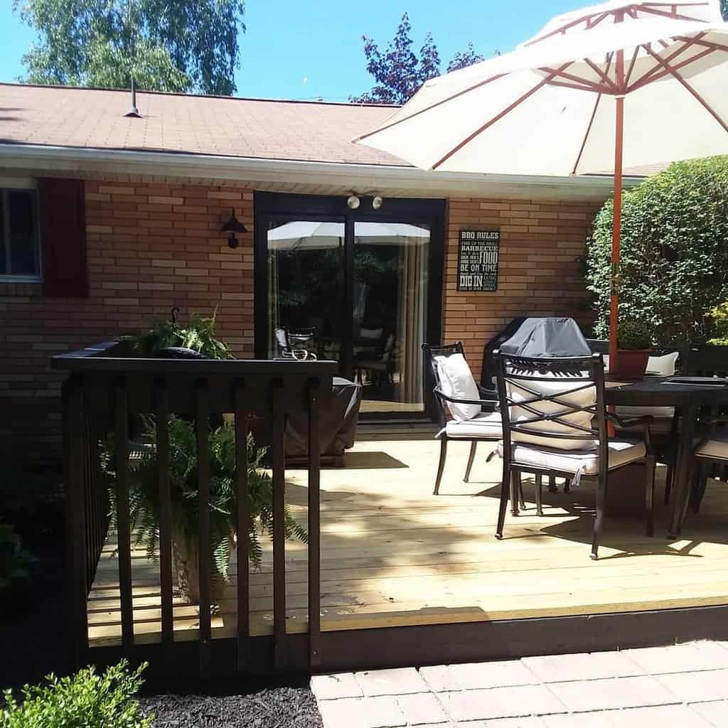 outdoor patio deck ideas ourbrickranch