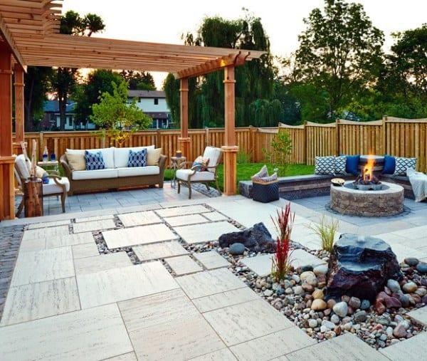 Top 60 Best Outdoor Patio Ideas - Backyard Lounge Designs on Great Patio Designs id=48312