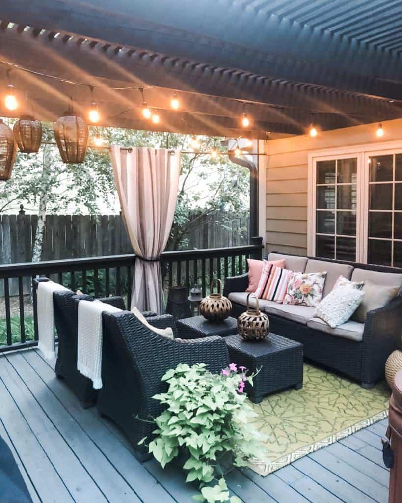 outdoor patio lighting ideas e.lynndesign