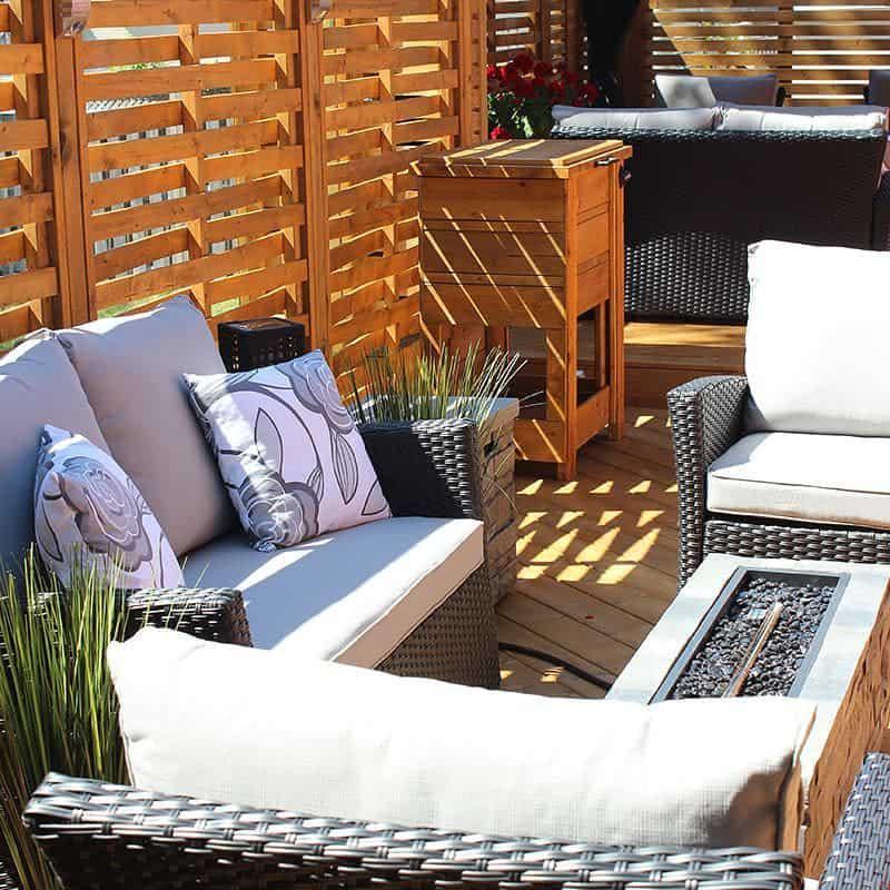 outdoor patio privacy ideas handcraftedbychrispalmer