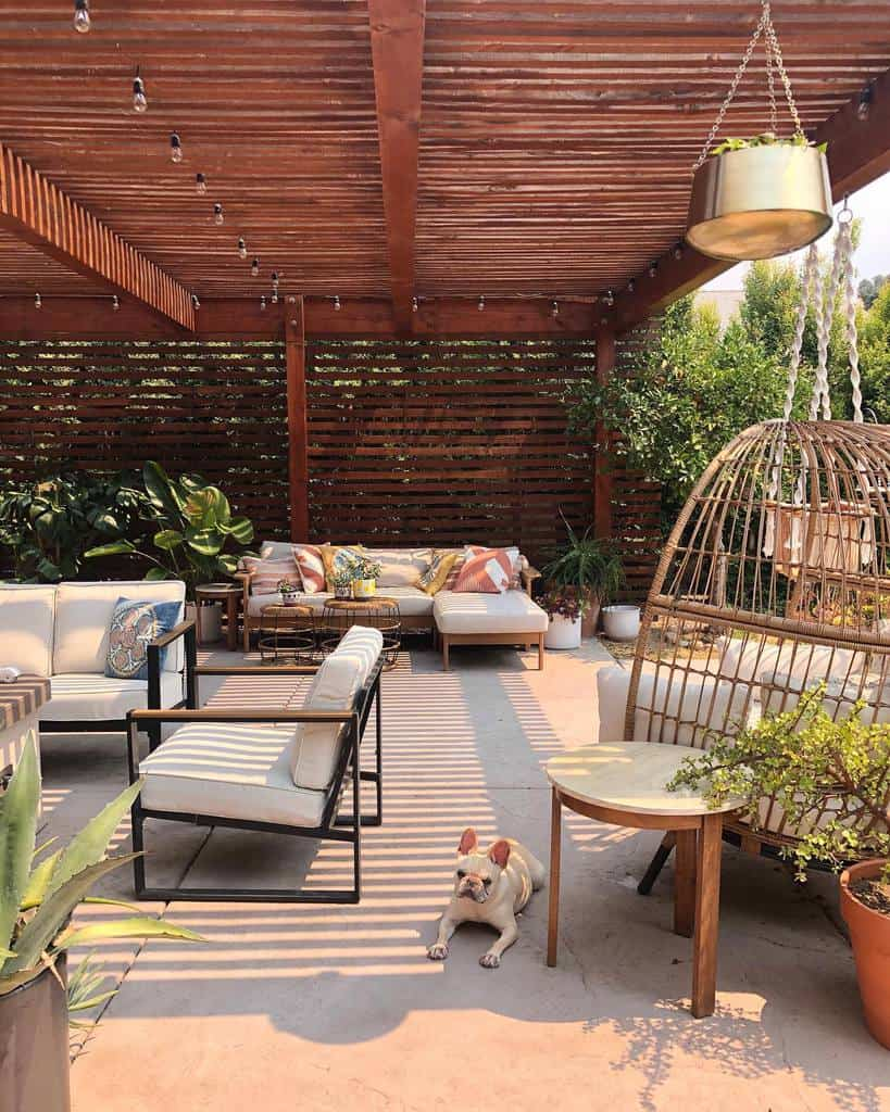 outdoor patio privacy ideas katie_elaine
