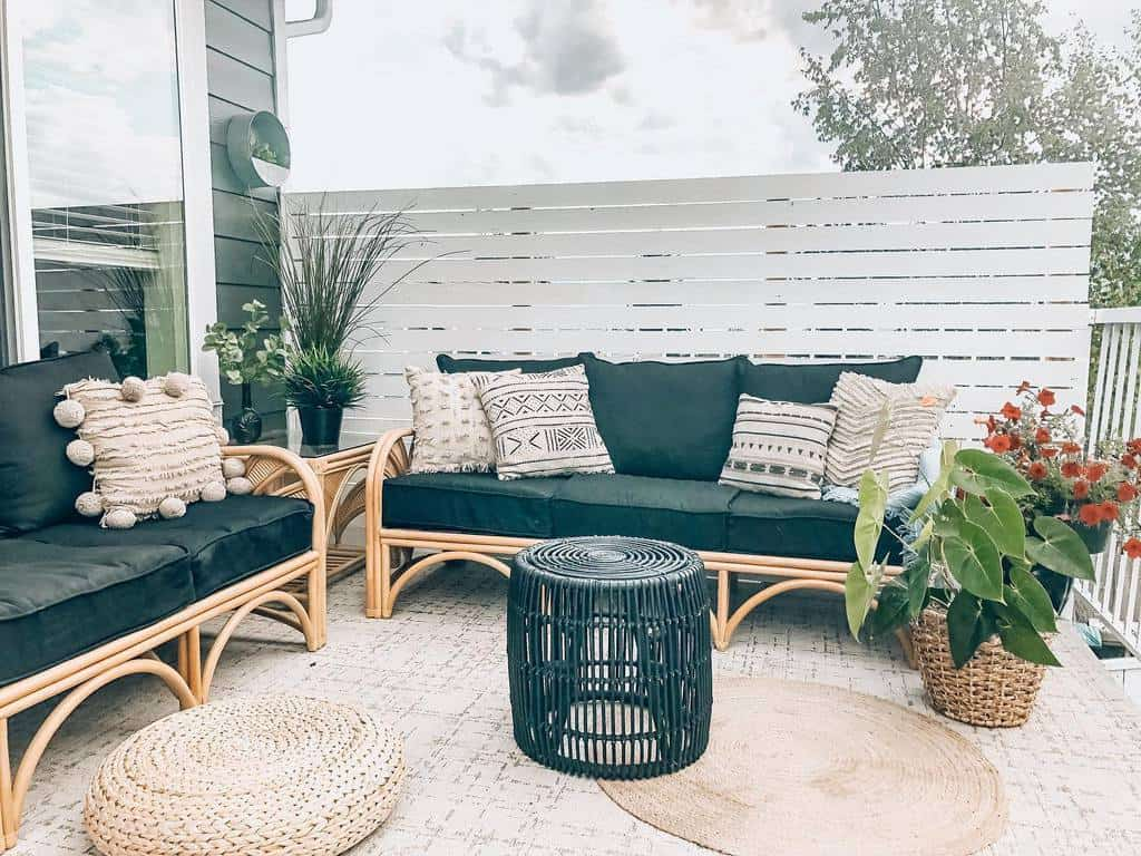 outdoor patio privacy ideas smalltownstyleme