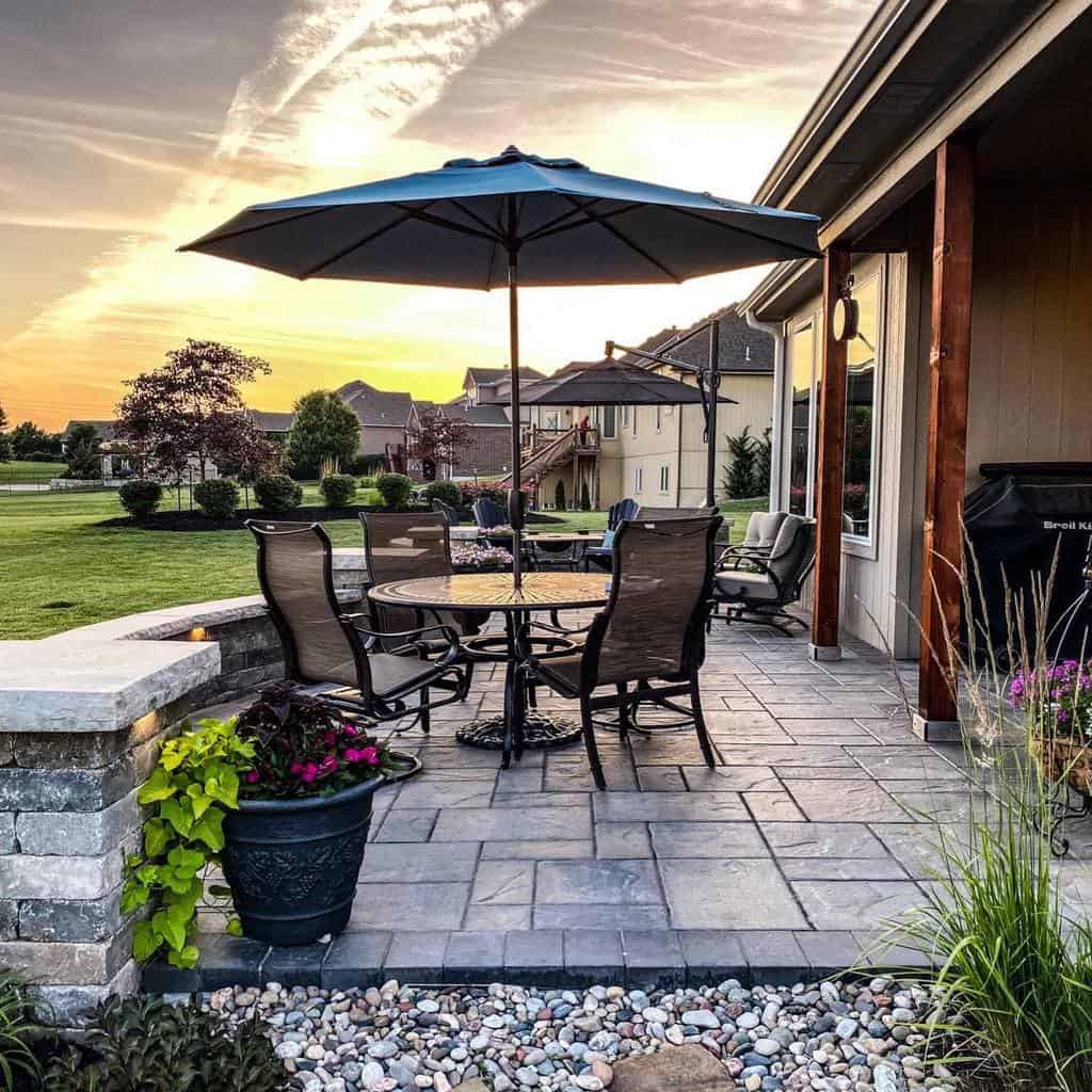 outdoor patio shade ideas kansascityhardscapes