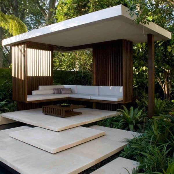 Outdoor Pavillion Backyard Designs