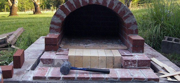 Outdoor Pizza Stove