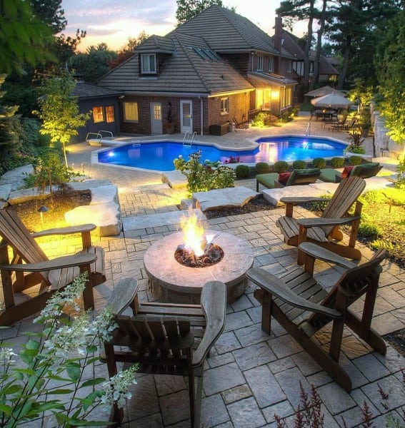Outdoor Pool Patio Ideas