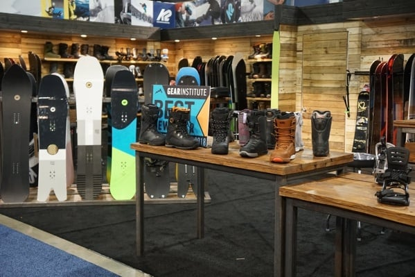 Outdoor Retailer And Show Show Denver Convention Snowboard And Boots