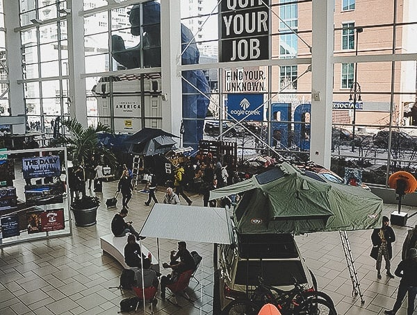 Outdoor Retailer Snow Show 2019 Main Floor