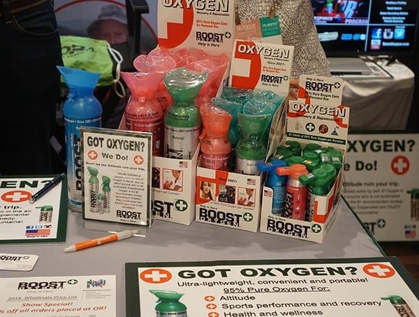 Outdoor Retailer Summer Market 2018 Boost Oxygen