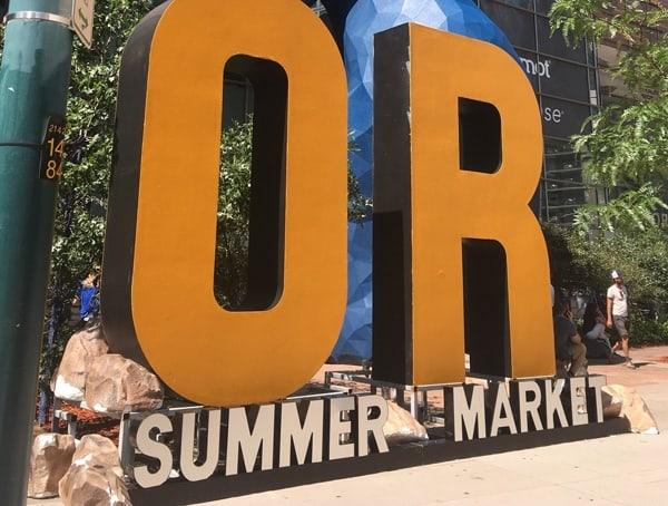 Outdoor Retailer Summer Market 2018 Denver Colorado Convention Center