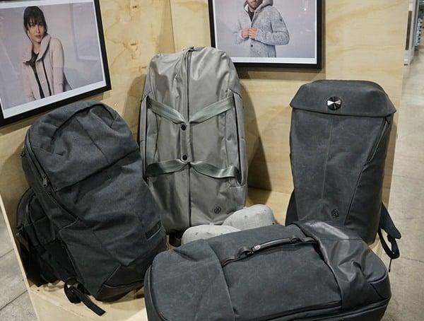 Outdoor Retailer Winter Market 2018 Alchemy Equipment Backpacks Display