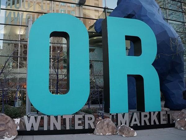 Outdoor Retailer Winter Market 2018 Blue Bear At Colorado Convention Center In Denver