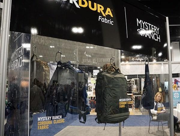 Outdoor Retailer Winter Market 2018 Cordura Booth