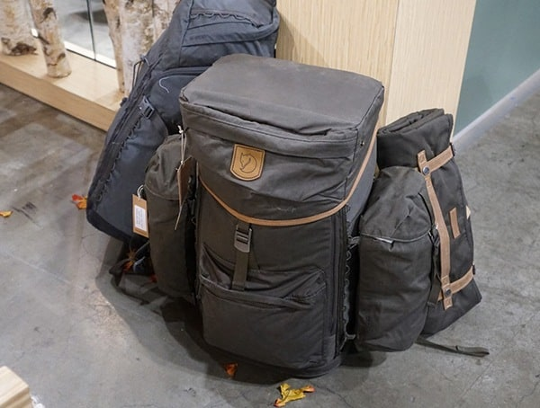 Outdoor Retailer Winter Market 2018 Fjallraven Backpack Collection