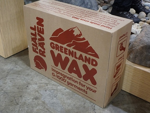 Outdoor Retailer Winter Market 2018 Fjallraven Giant Greenland Wax Box
