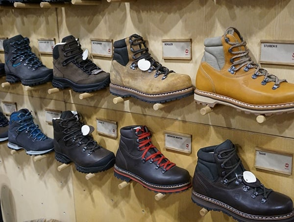 Outdoor Retailer Winter Market 2018 Hanwag Boots Collection