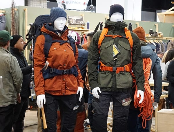 Outdoor Retailer Winter Market 2018 Mens And Womens Outfits Fjallraven
