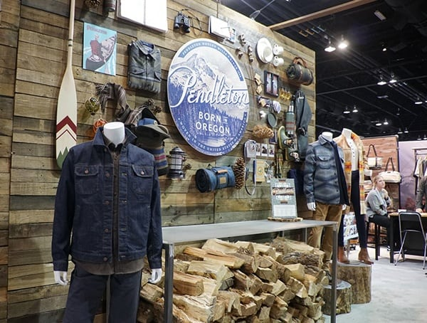 Outdoor Retailer Winter Market 2018 Pendleton Collection