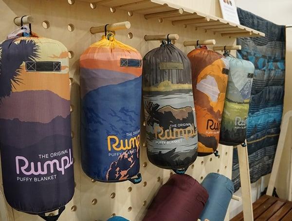 Outdoor Retailer Winter Market 2018 Rumpl Compact Camping Blankets