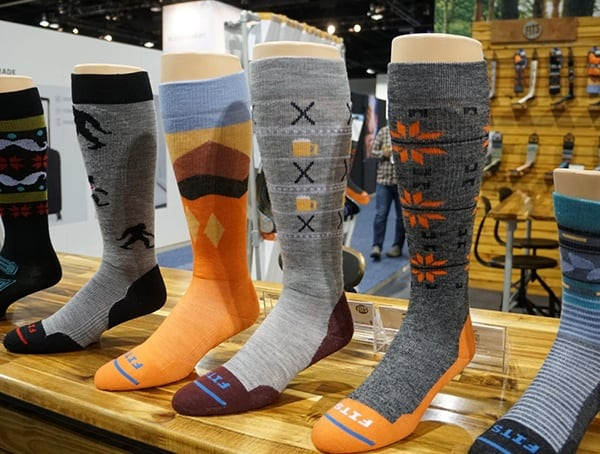Outdoor Retailer Winter Market 2018 Socks Collection