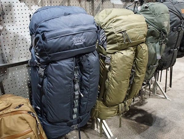 Outdoor Retailer Winter Market Large Hiking Packs Mystery Ranch