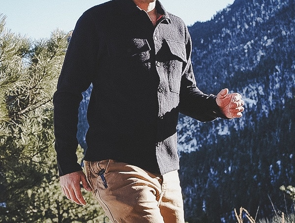 Outdoor Review Topo Designs Wool Shirt For Men