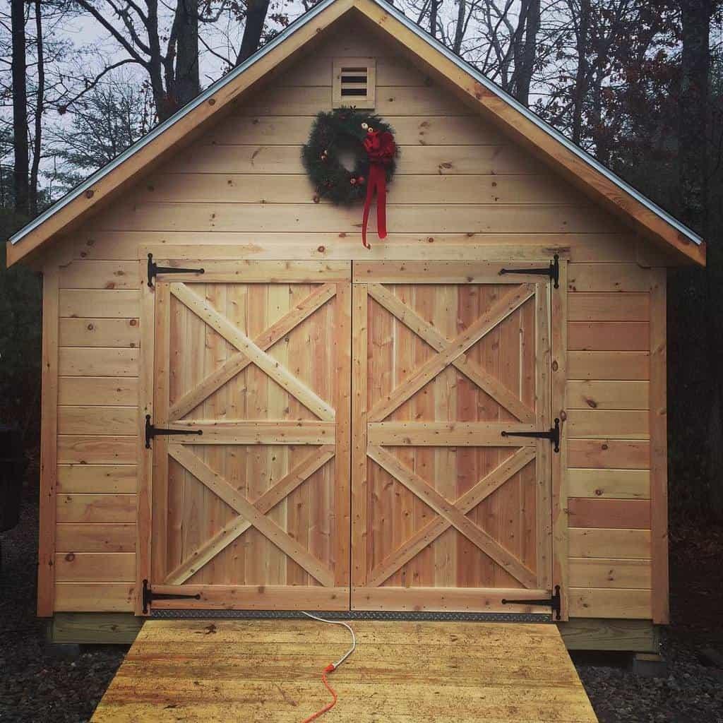 outdoor shed door ideas evan_walsh
