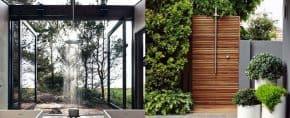 Top 60 Best Outdoor Shower Ideas – Enclosure Designs