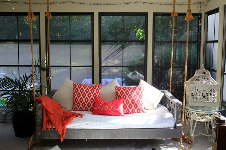 Outdoor Sleeping Arizona Room Screened In Porch