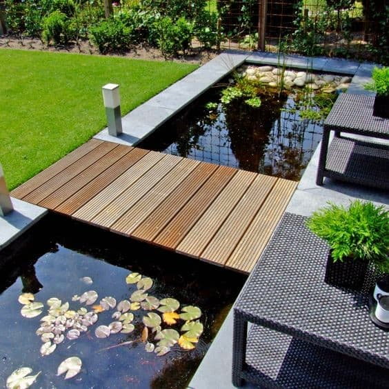 Outdoor Small Patio Pond Ideas