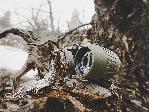 Outdoor Woods Field Test Steiner Military Marine 10x 50 Binoculars