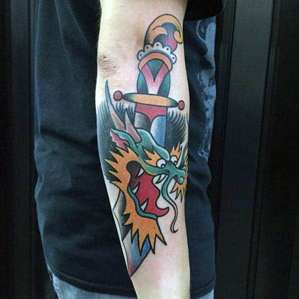 outer-forearm-dagger-dragon-mens-small-tattoo-ideas – Copy