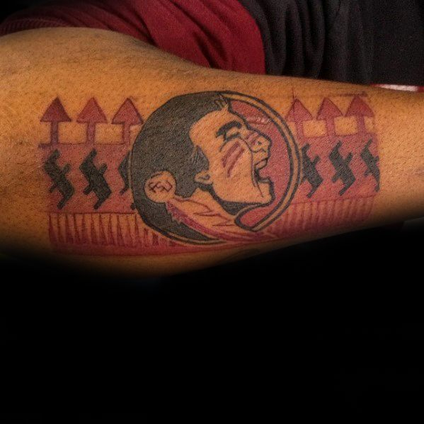Outer Forearm Fsu Guys Tattoos