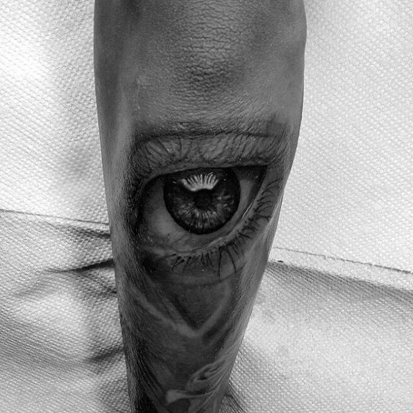 Outer Forearm Shaded Realistic Tattoo Design Ideas For Men