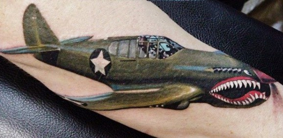 Outer Forearm Us Air Force Tattoos For Gentlemen