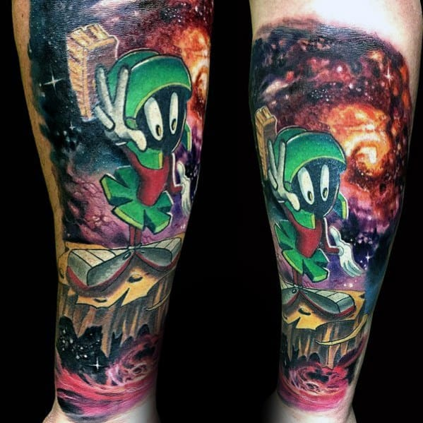 c1047df9a 60 Looney Tunes Tattoos For Men - Animated Cartoon Ink Ideas