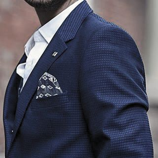 Outfit Fashion For Men Navy Blue Suits