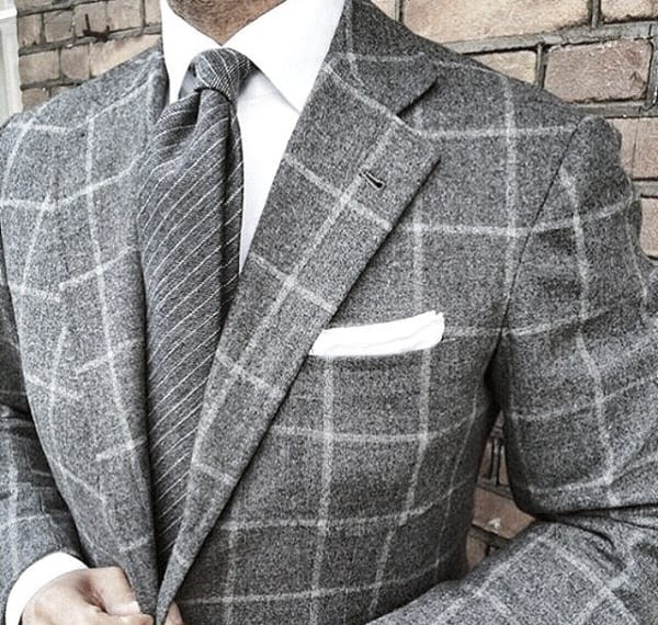 Outfit Fashion Ideas For Guys With Grey Suit