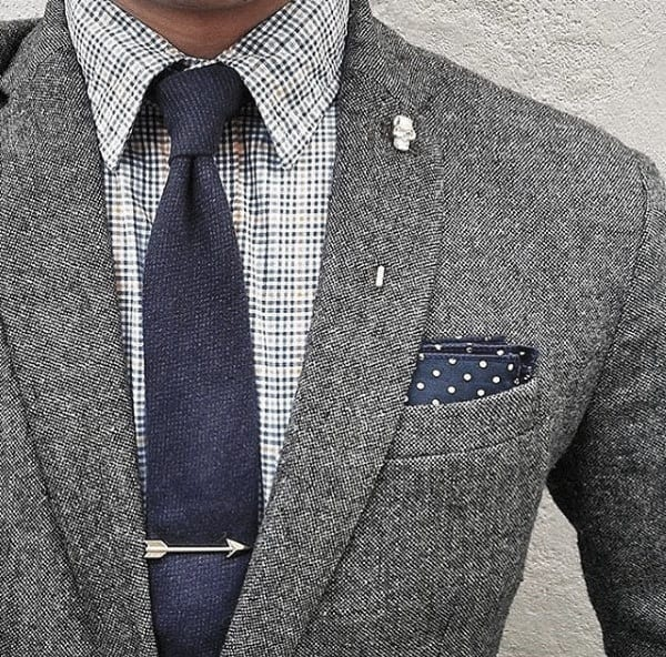 Outfit Ideas For Gentlemen Grey Suit Style