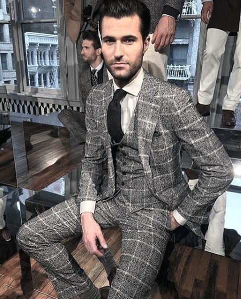 Outfits For Men With Grey Suits